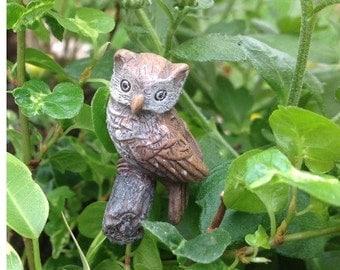 Fairy Garden  - Hoot The Owl - Miniature