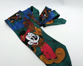 Vintage Disney Mickey Mouse tie