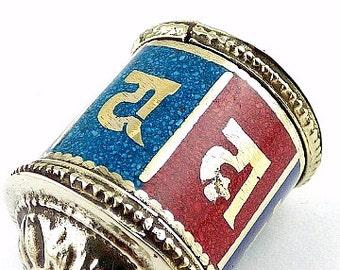 MILL A PRAYERS jewel Buddhist Tibetan pendant ref 6354.1