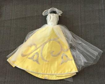 Vintage Barbie Doll Cinderella Dress 60s TLC