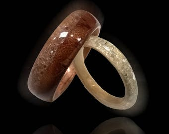here to eternity unique wedding rings bentwood ring wood wedding rings