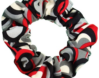 Oval Soft and Silky Scrunchies (Free Shipping) Made in USA Ponytail Holder Hair Accessories