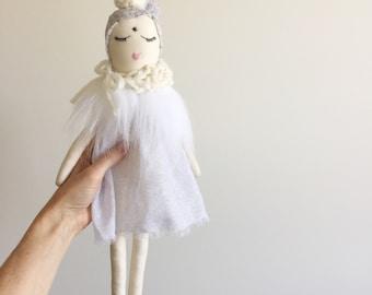 rag doll, doll, collectable, heirloom, girls doll, gift, girl, birthday gift, handmade, soft doll
