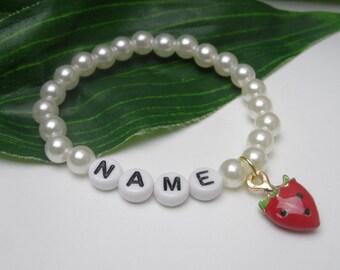 Girls name bracelet   Etsy