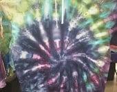 3XL   Jewels of the tye dye hoodie ice dye 3xlg with media pocket