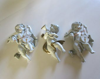 ITALY CHERUBS PLAYING Instruments