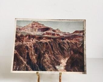 Vintage Lithograph // The Colorado River