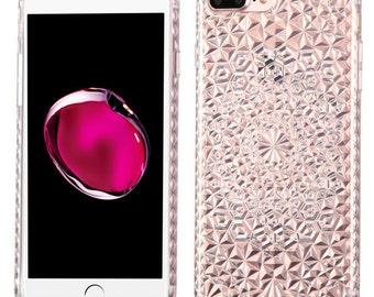 Diamond Clear iPhone 7 Plus / 8 Plus TPU Gel  Case
