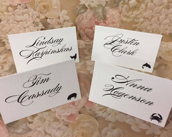 Calligraphy Machine Addressing of Place Cards