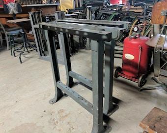 Workbench Legs  New Britain Machine  31x28