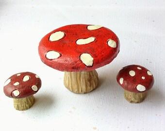 Fairy Garden Toadstool | Fairy Garden Furniture | Miniature Garden Toadstool | Fairy Garden Accessories | Toadstool Table