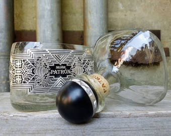 Limited Edition Patron Silver Tequila Soy Candle, Scented Candle (Bottle In Waiting)