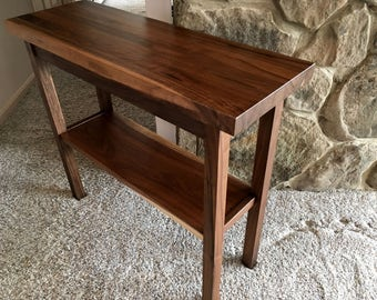 Walnut Butcher Block Table