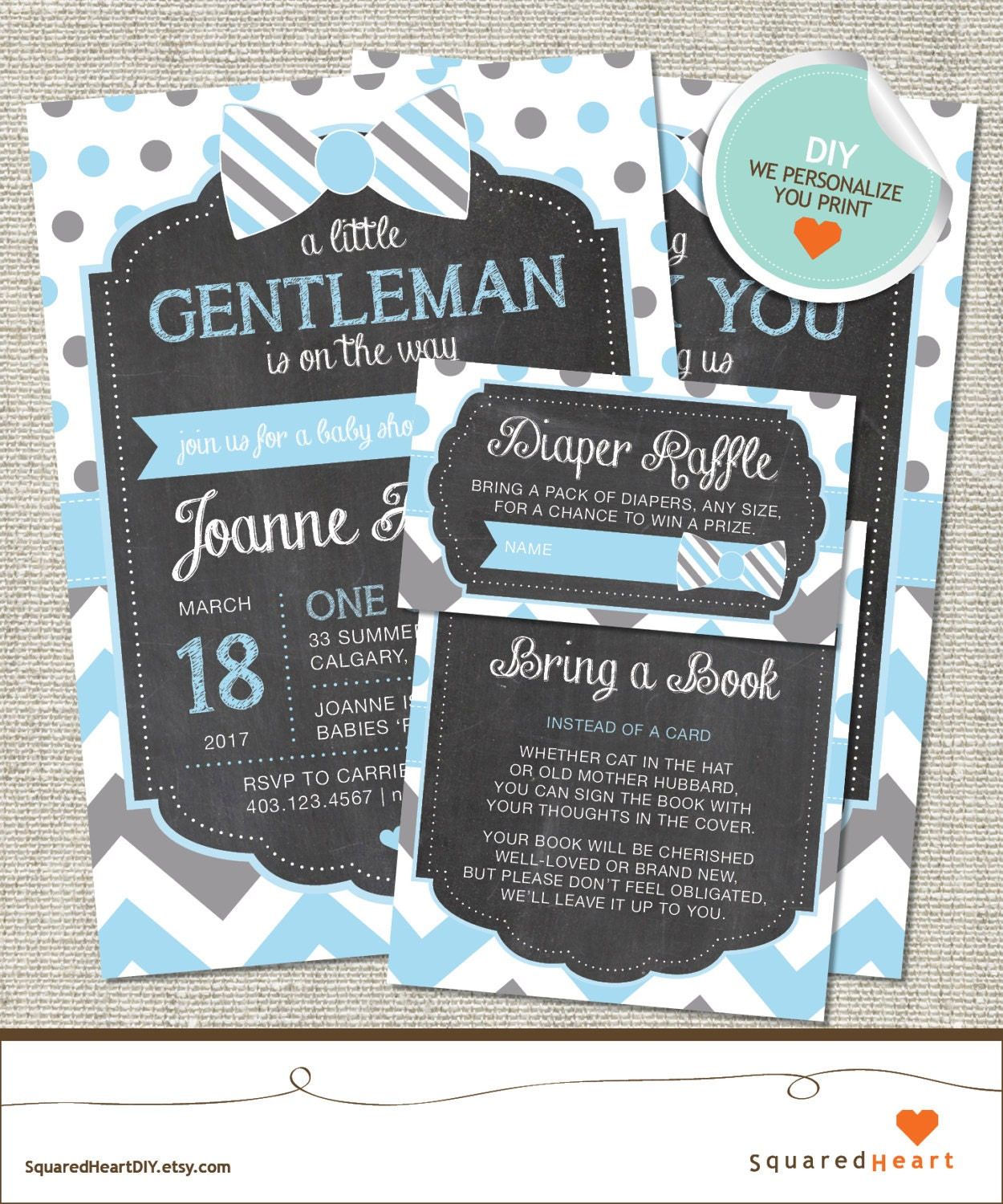 little gentleman baby shower invitation little gentleman