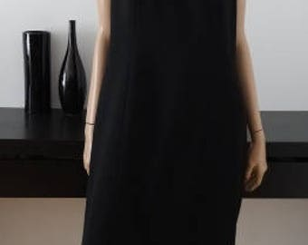 Robe vintage noire taille 46 / uk 18 / us 14