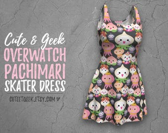 Overwatch Pachimari Kawaii Dress