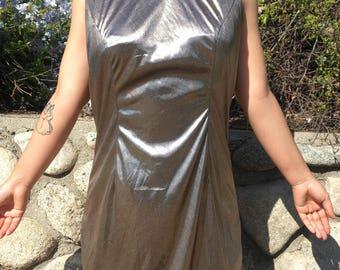 Sparkly Glittery Holographic Shift Dress!! Size Medium