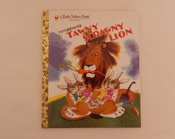 Little Golden Book - Tawny Scrawny Lion