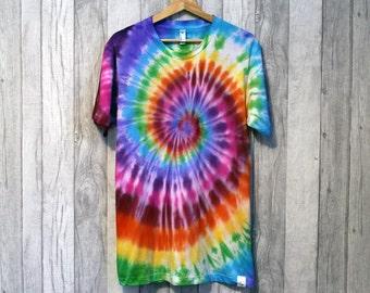 TyreDyes Rainbow Tie Dye Tee