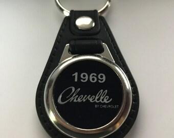 1969 Chevy Chevelle keychain fob