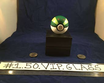 Free Gift & Shipping Park Pokeball Original Pokemon Style 3pc Herb Grinder + Gift Box