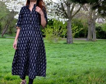 Ikat Dress / Ikat Summer Dress