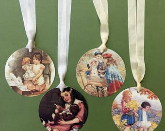 Victorian Children Tags