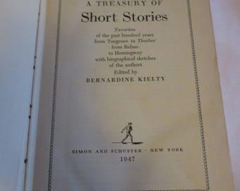 A Treasury of Short Stories edited by Bernardine Kielty 1947