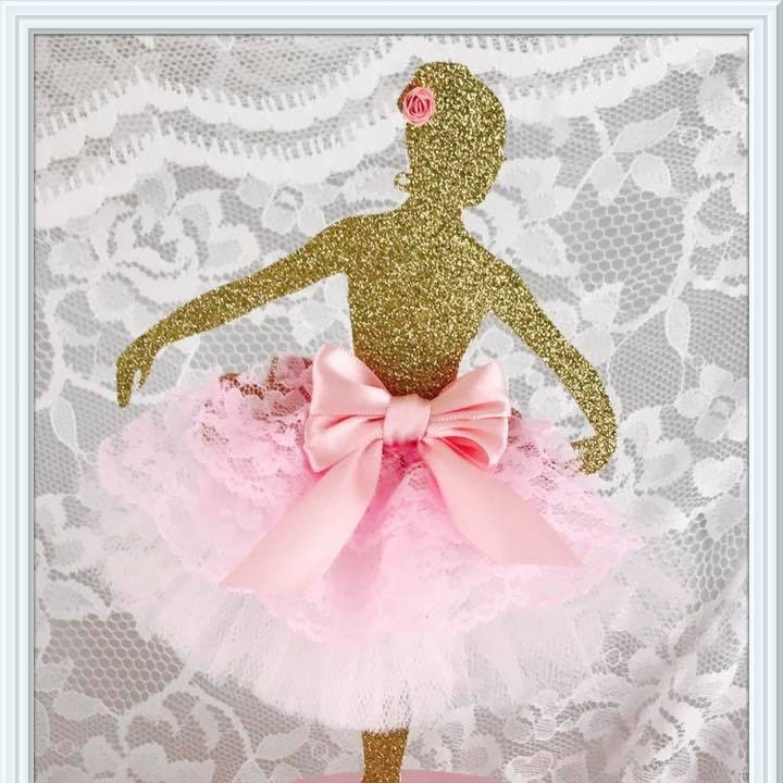 Ballerina Cake Topper Ballerina Party Decorations