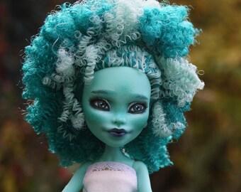Monster High ooak WADA, repaint doll