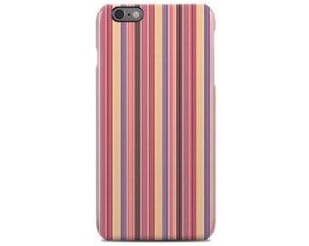 Stripes iPhone 6 Case, iPhone 6S Case, iPhone 6 Plus Case, iPhone 5 Case, iPhone 5S Case, iPhone 5C Case, Samsung Galaxy Case S5, S6, S7