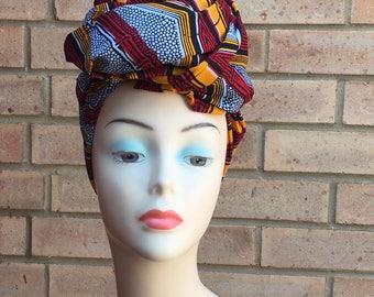 Headwraps, African print headtie , sales Headwraps