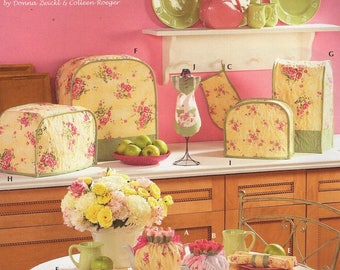 Free Us Ship Simplicity Sewing Pattern 4341 Home Decor Kitchen Items tea cozy appliance covers mitt New Uncut