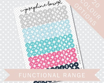 ICONS - Functional Stickers - Planner Stickers Matt