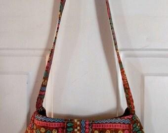Ladies Purse Small Shoulder Bag Handbag Pocketbook ABSTRACT ART PRINT SB34