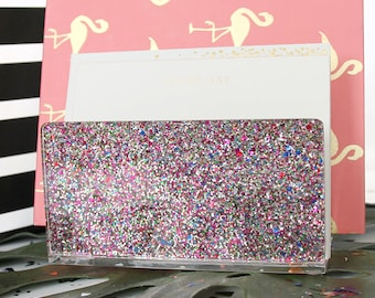 Letter Sorter-Acrylic-Multi Glitter- Desk-Accessories