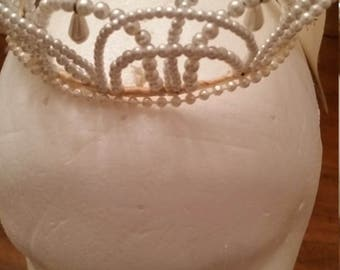 Reduced Vintage Bridal Headpiece Wedding Crowns Choice of One Jeweled Bridal Tiara