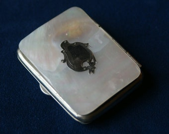 Antique mother of pearl purse - 19th century