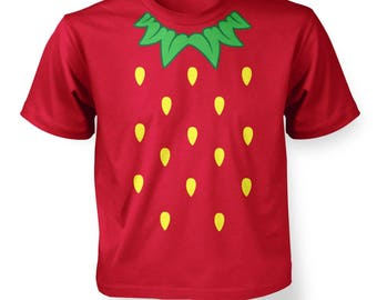 Strawberry Costume kids t-shirt