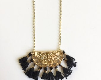 ALMA NECKLACE - black