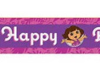 Dora the Explorer ''Flower Adventure'' Crepe Paper Streamer 30ft