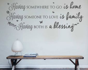 Having Somewhere to Go Wall Sticker Decal Art