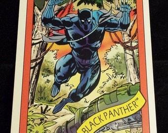 Black Panther #20 - 1990 Marvel Universe Series 1 Base Trading Card