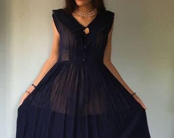 Vintage 1940s Dress R & K Originals