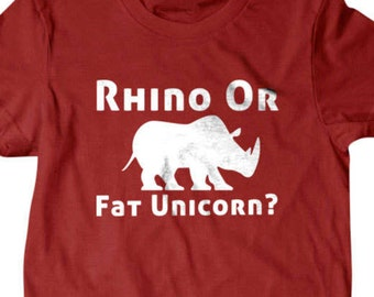 Rhino or fat unicorn t shirt,  Unicorn t shirt, Funny gift ideas, Funny T Shirts for Men | T Shirts for Husband | Gifts for Dad
