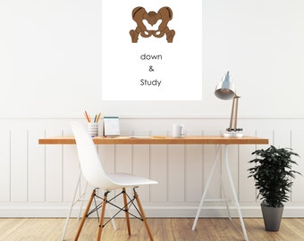 Dorm Poster - Funny Gift For Her - College Dorm Decor - College Student Gift - Cool Poster Art - College Roommate Gift - School College Exam