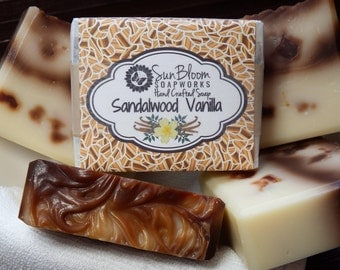 Sandalwood Vanilla Soap