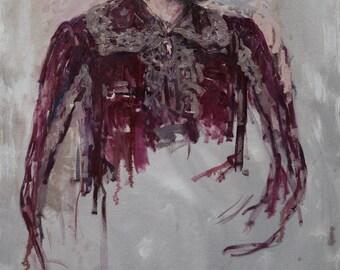 Portrait,  45.2x27.5 inches