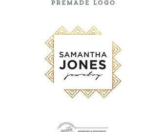 Logo design Premade, Gold Logo, Custom logo design, Premade Branding, Premade Logo Design, Modern Logo Branding, Logo and watermark