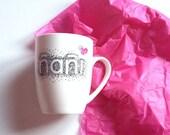 Tazas personalizadas pintadas a mano. Tazas. Mugs. Taza con nombre. Taza mama. Taza diseño. Regalos personalizados. Ceramic mug
